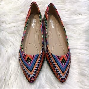 Bella Marie pointed toe flats